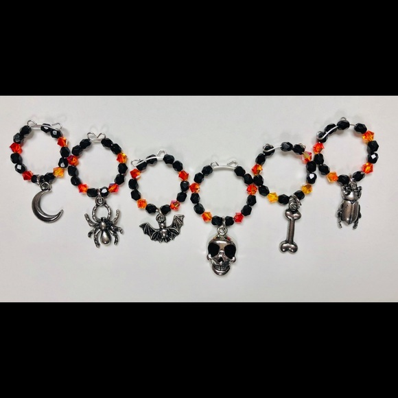 Other - Halloween Wine Charms
